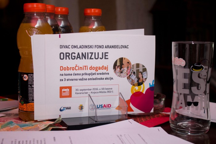 "At the ""DOBROČINITI"" (""DoGood"") EVENT ORGANIZED IN ARANĐELOVAC, OUR YOUNG COLLEAGUES RAISED FUNDS FOR THREE INITIATIVES FOR BETTER TOWN"