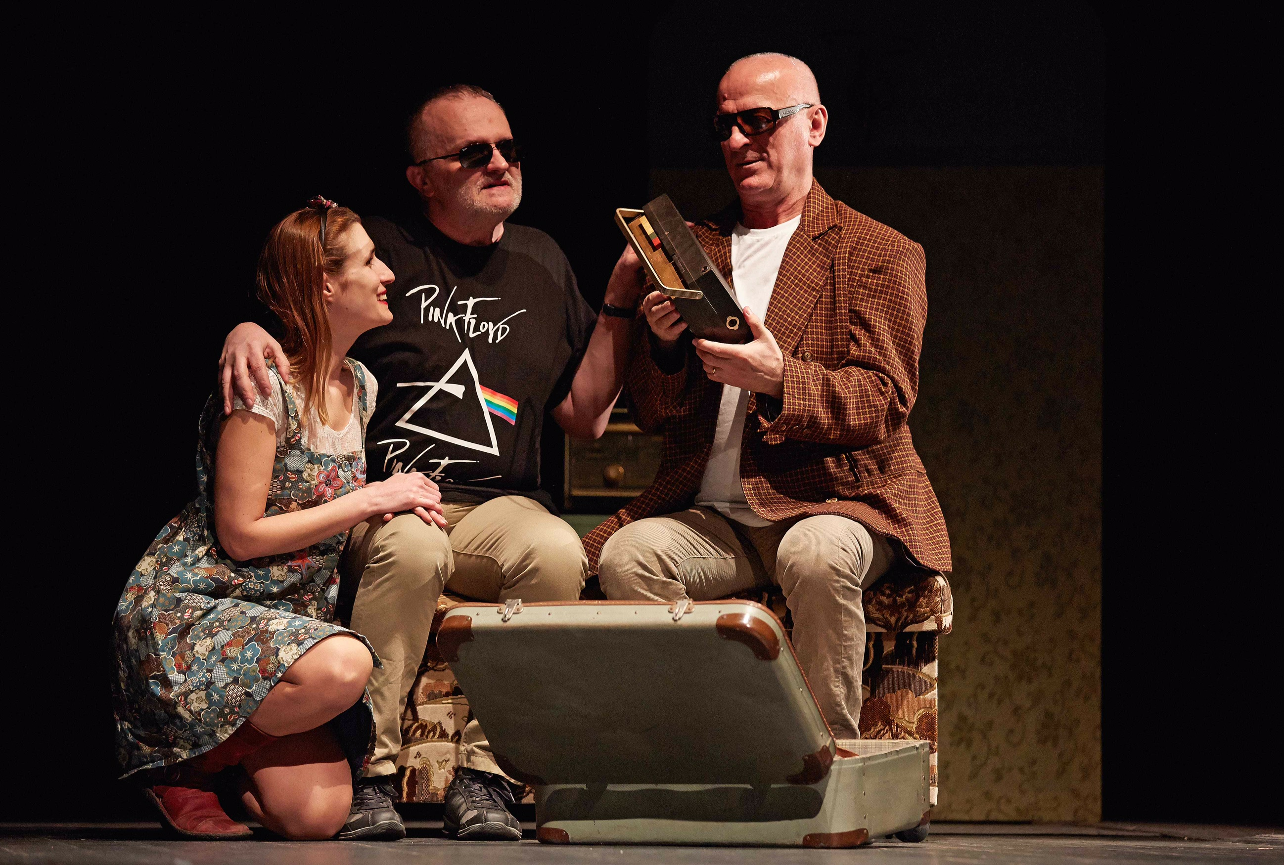 "THE PLAY ""YESTERDAY I REMEMBERED THE BLUE"" IN BELGRADE"