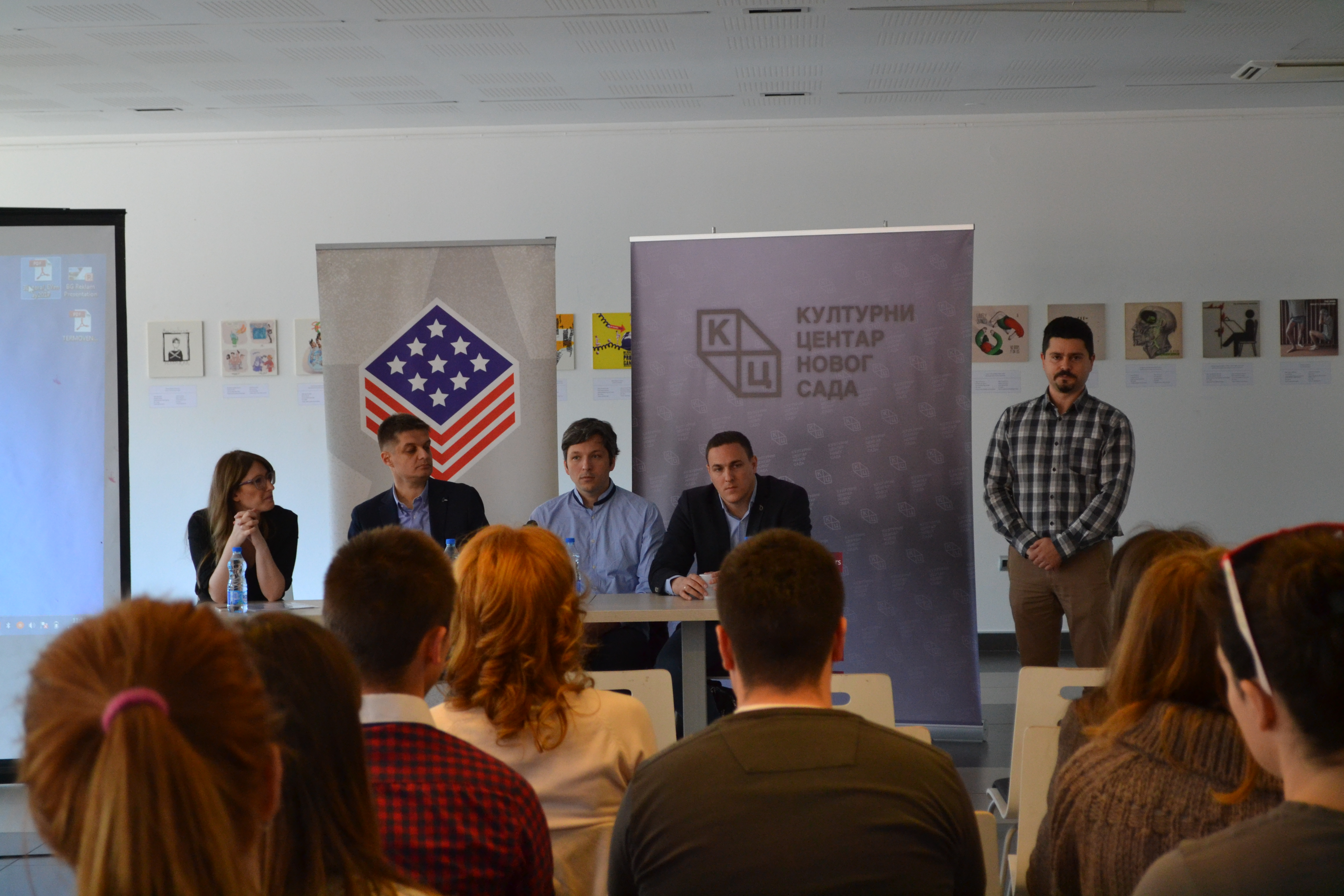 LECTURE ON ENTREPRENEURSHIP IN NOVI SAD