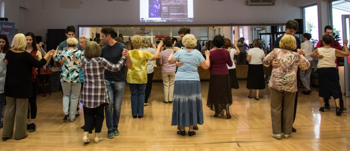 INTERGENERATIONAL TANGO DANCE WORKSHOP