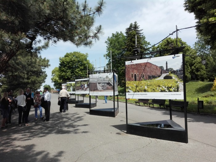 "Exhibition ""Belgrade in the Eyes of Migrants"" at Kalemegdan"