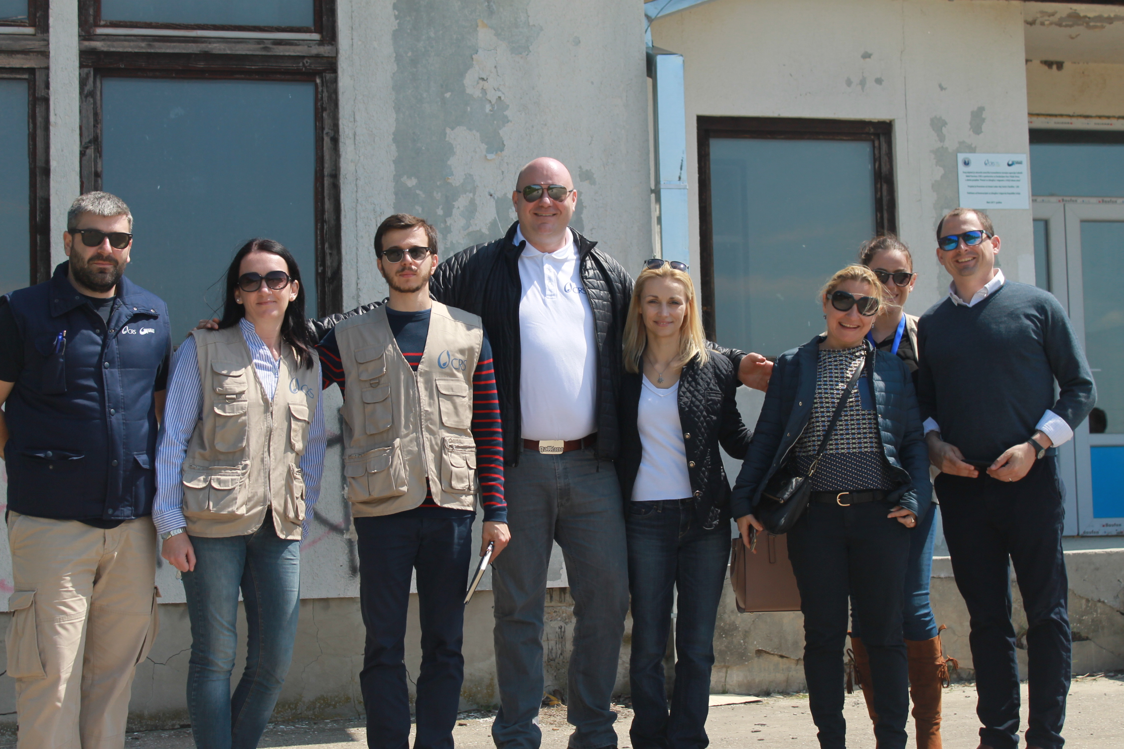Visit to Migrant Reception Center Kikinda