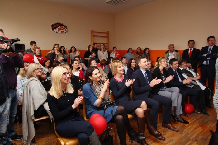 "Completely equipped and new sensor room for elementary school ""Sveti Sava"" in Šabac"