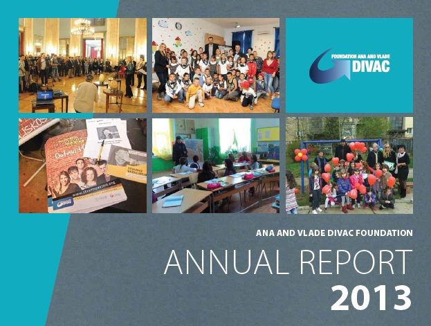 Ana and Vlade Divac presented Annual Report 2013