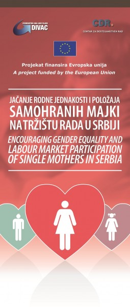 Encouraging gender equality and labour market participation of single mothers in Serbia