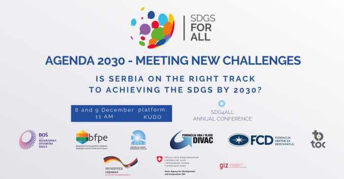 """SDGs for All"" Annual Conference: Agenda 2030 - Meeting New Challenges"