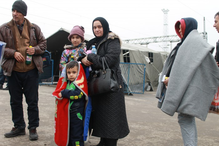 Refuge aid and support to local communities affected by the refugee crisis