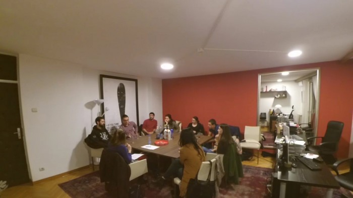 "The first Focus Group held as the beginning of the research on youth attitudes toward solidarity within the project ""Celebrating solidarity"""