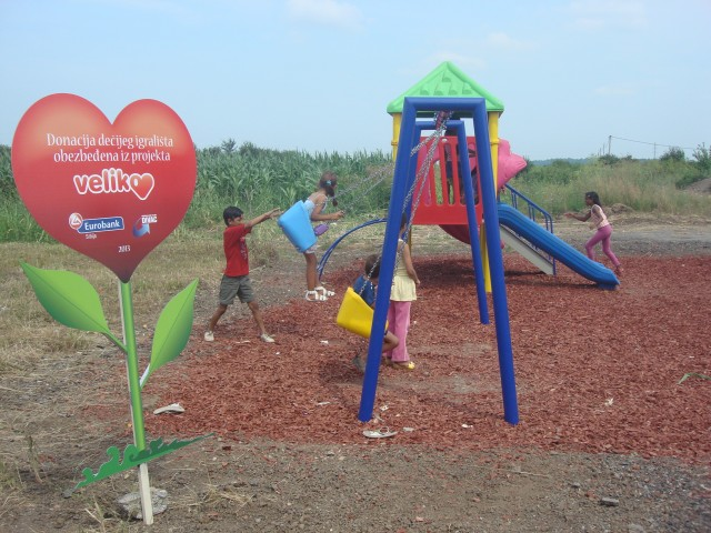 """Big Heart"" for Children's Smiles in Požarevac"