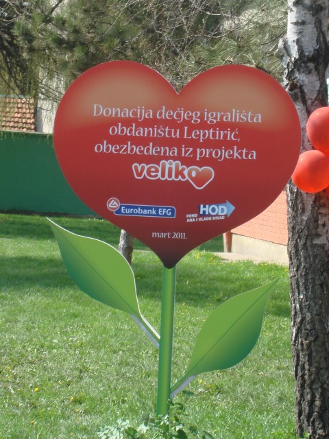 Big heart for the Children of Nova Pazova